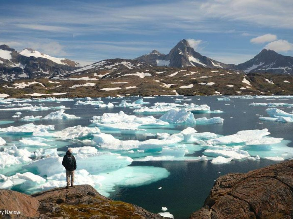 greenland hiking ice fjord cathy harlow
