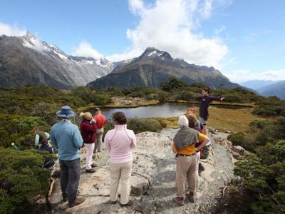 new zealand fiordland key summit
