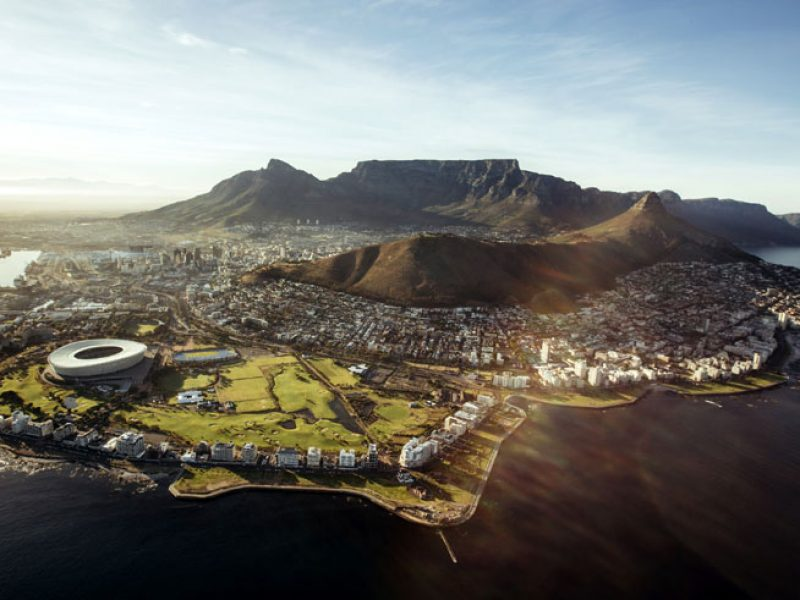south africa cape town aerial view istock