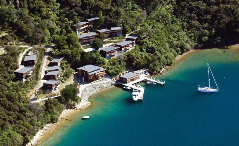 bay of many coves resort marlborough sounds new zealand