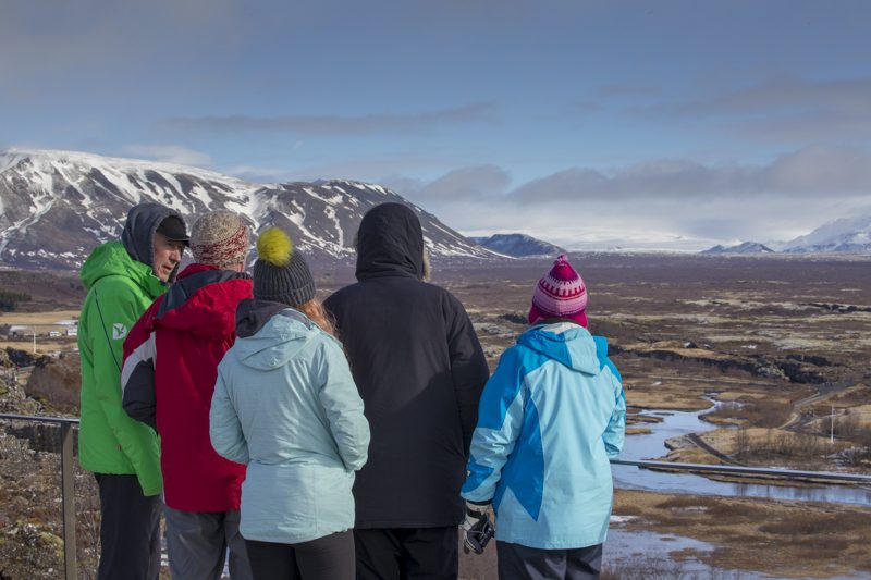 discover the world escorted holiday group thingvellir winter iceland