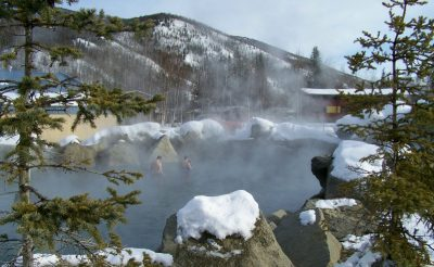 alaska chena hot spring march