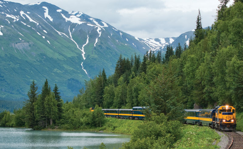 alaska railroad lake