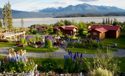 alaska ultima thule lodge garden