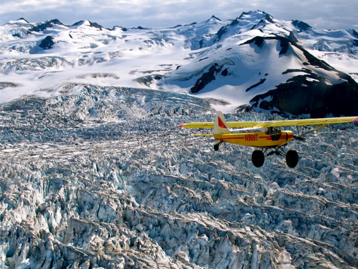 alaska ultima thule lodge glacier flight