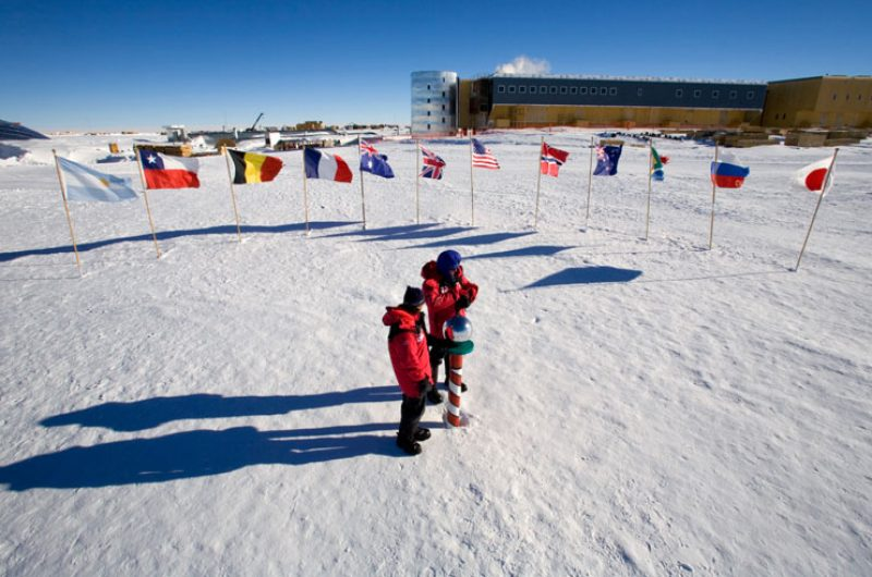 antarctica south pole ani