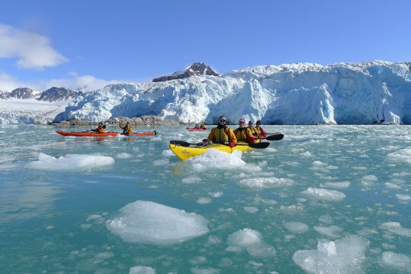 arctic spitsbergen kayaking excursion ae