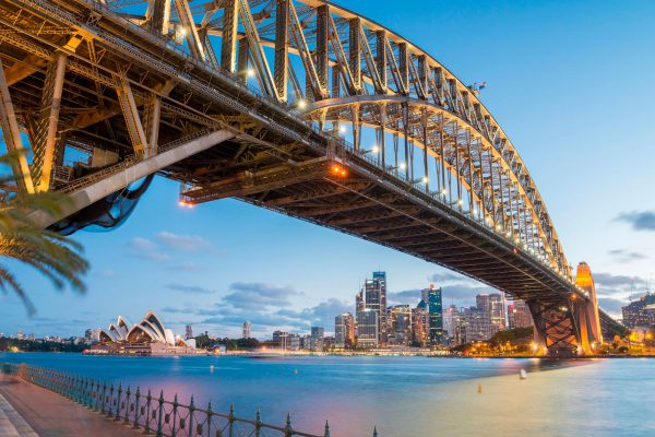 australia new south wales sydney harbour bridge adstk m