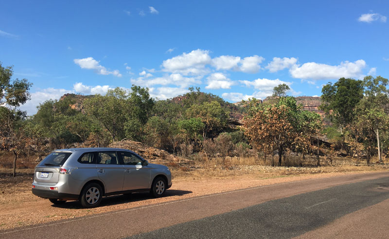 australia northern territory driving kakadu national park ll