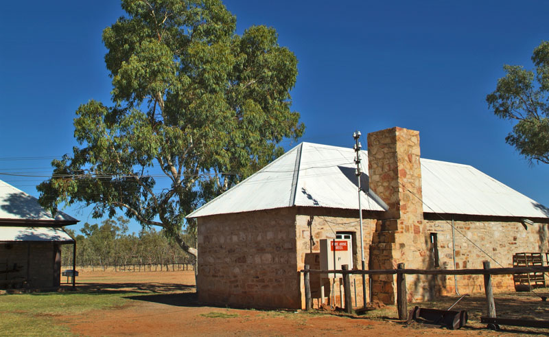 australia northern territory telegraph station alice springs istk