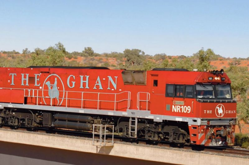 australia northern territory the ghan train