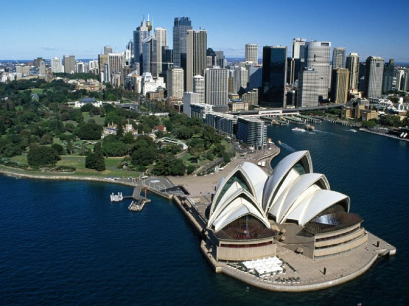 australia nsw sydney city view ta