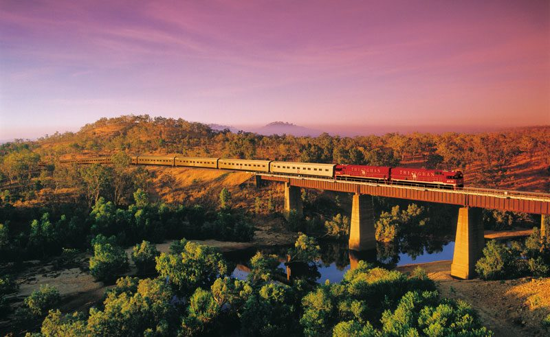 australia nt the ghan train journey