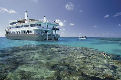 australia queensland great barrier reef cruise cor exp