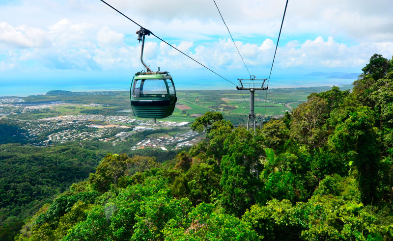 australia queensland kuranda skyrail as