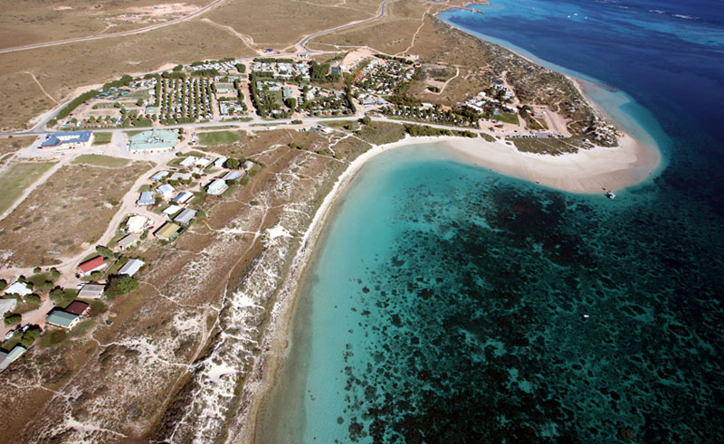 bayview coral bay aerial