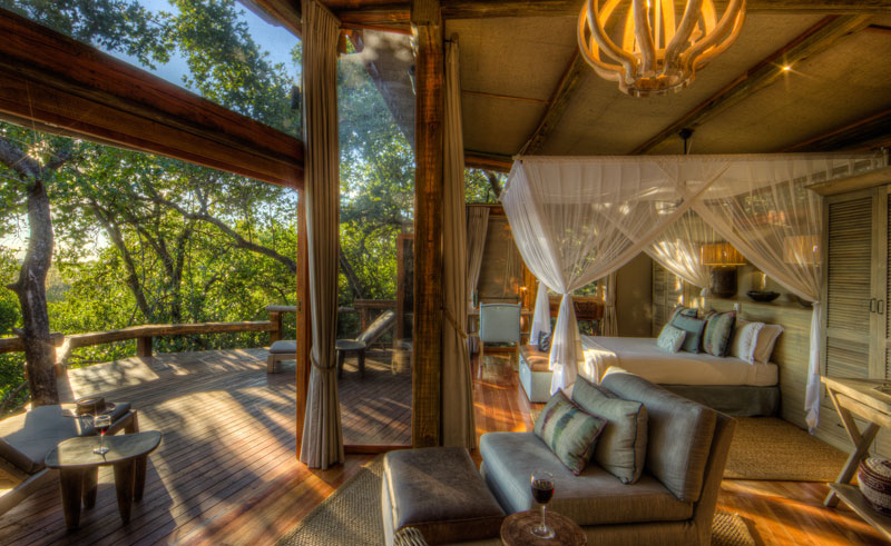 camp okavango room