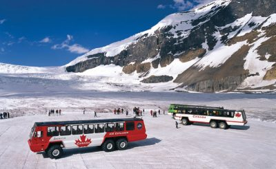 Ice Explorer on the Athabasca Glacier, Columbia Icefields