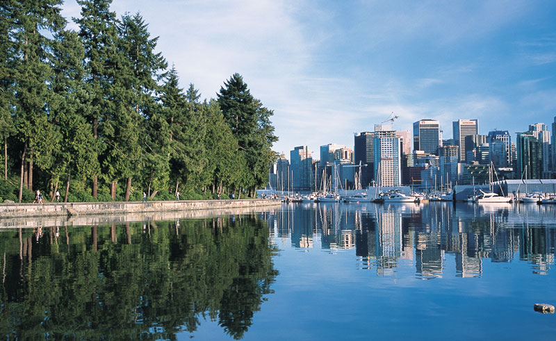 canada bc vancouver skyline bct