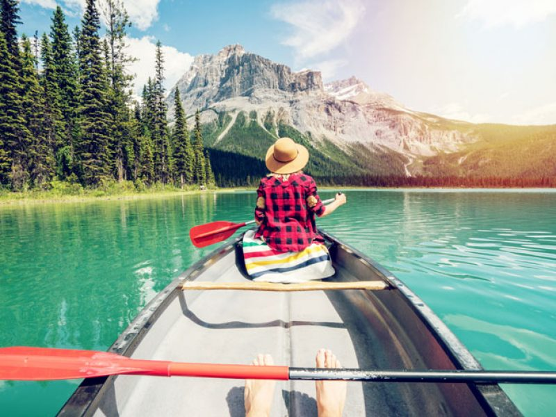 canada british columbia canoeing yoho national park istk
