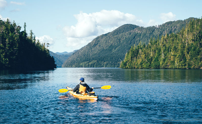 canada british columbia haida gwaii kayaking ctc