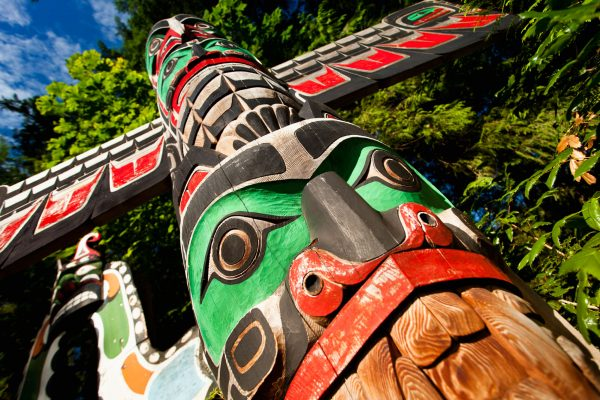 canada british columbia native totem istk