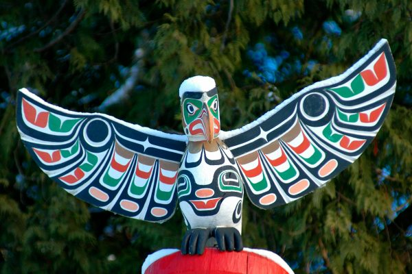 canada british columbia totem pole dbc