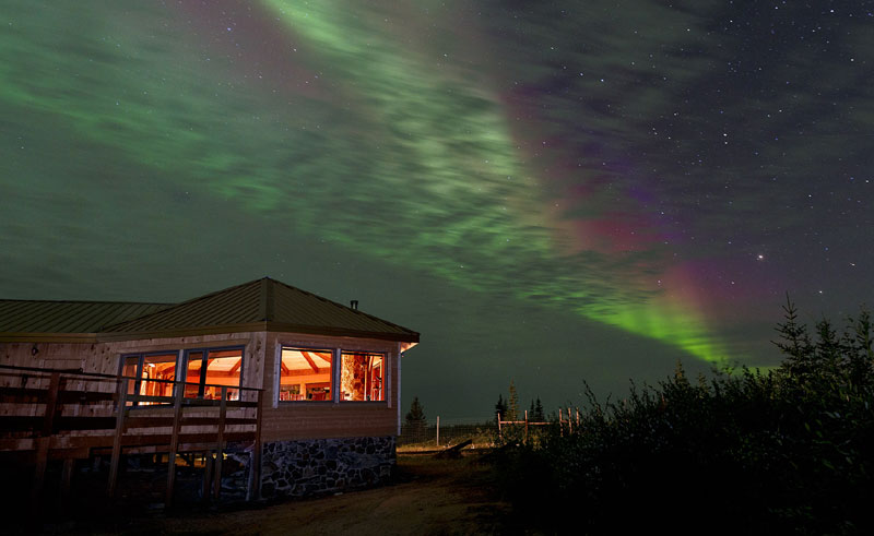 canada manitoba churchill aurora from nanuk lodge cw