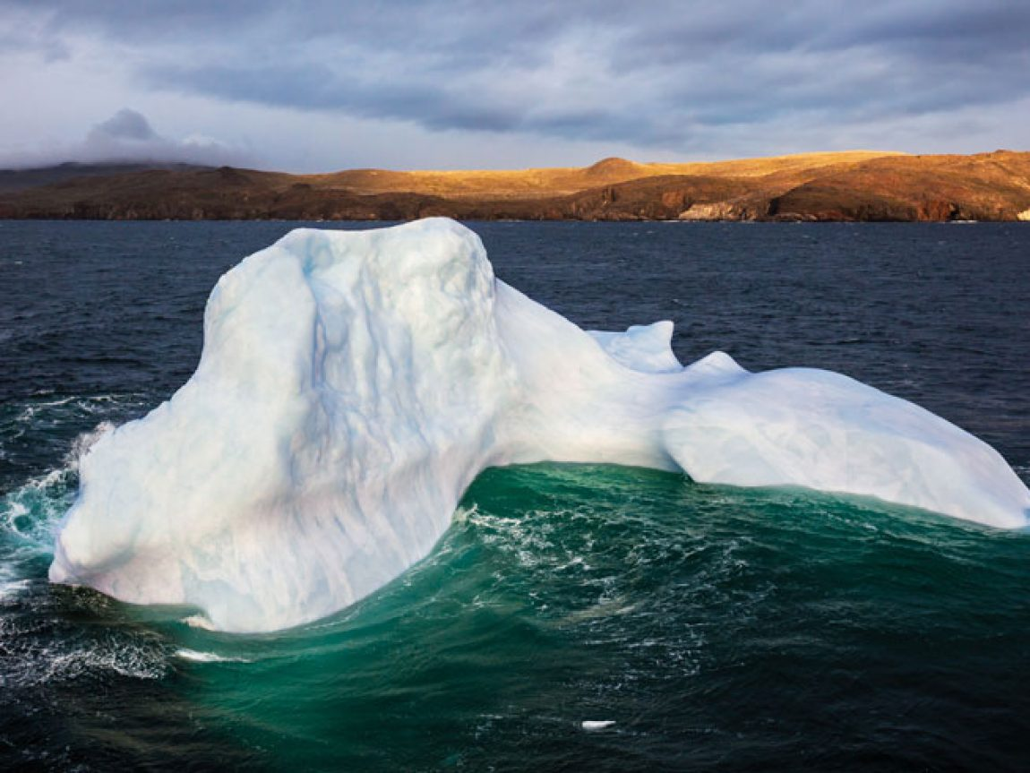 canada newfoundland iceberg near torngat mountains national park nlt
