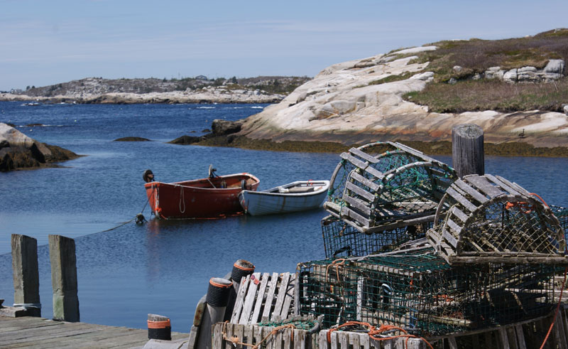Lobster traps, Peggy's Cove