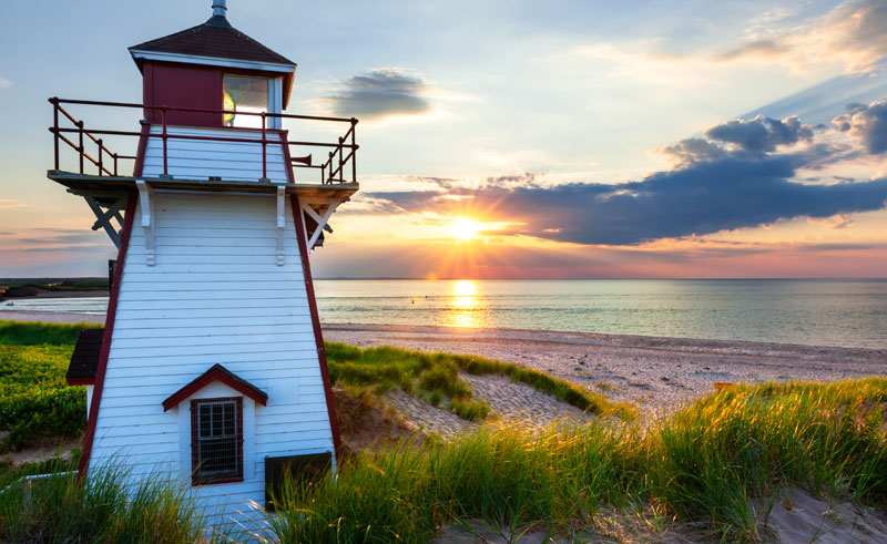 canada prince edward island covehead harbour lighthouse istk
