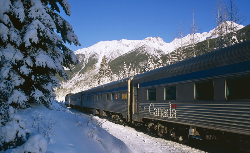 canada via rail the canadian