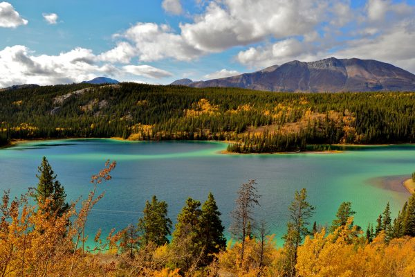 canada yukon emerald lake view istk