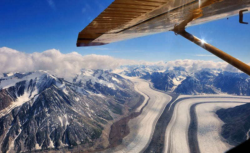 canada yukon kluane national park scenic flight ty