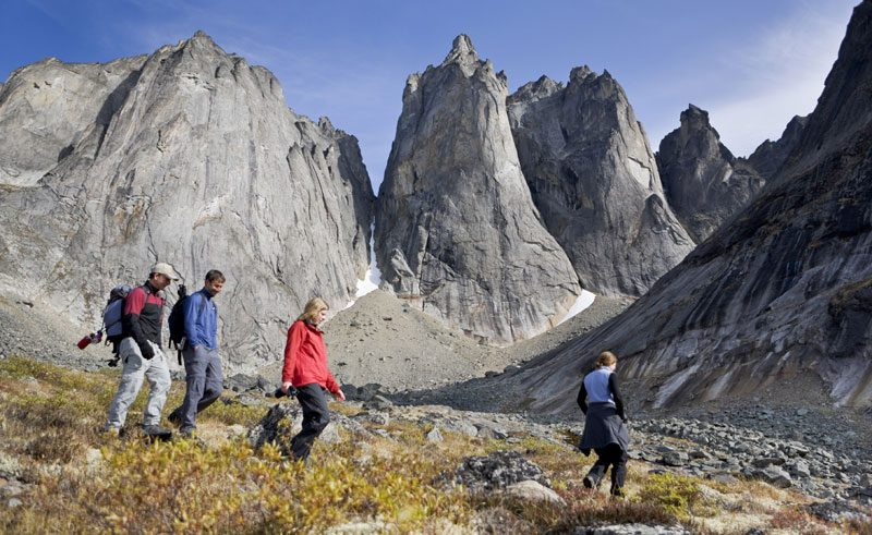 canada yukon tombstone provincial park hikers ty