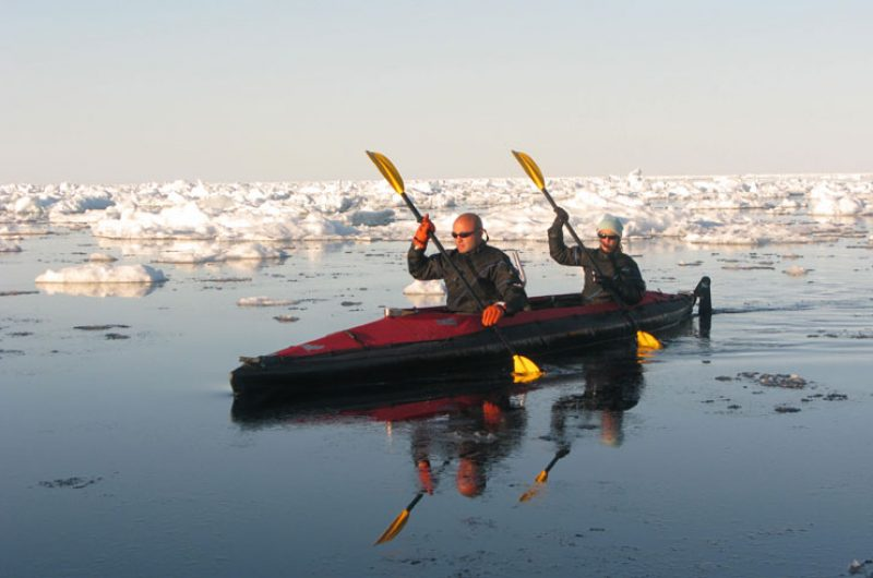 canadian arctic kayaking thro