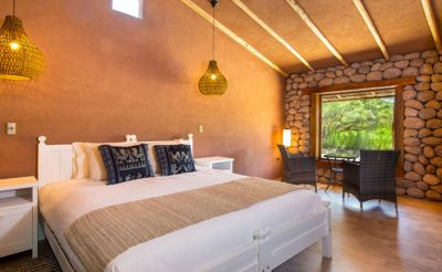 chile atacama hotel altiplanico bedroom wall cscda