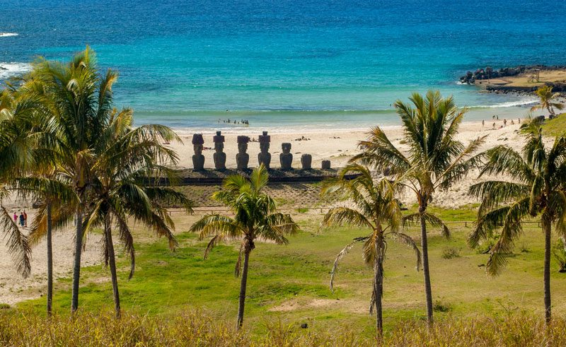 chile easter island anakena beach istk
