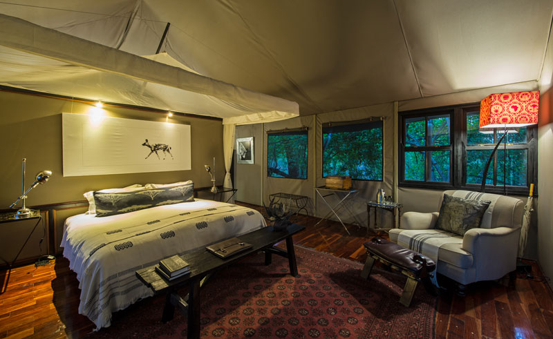 chitabe camp bedroom