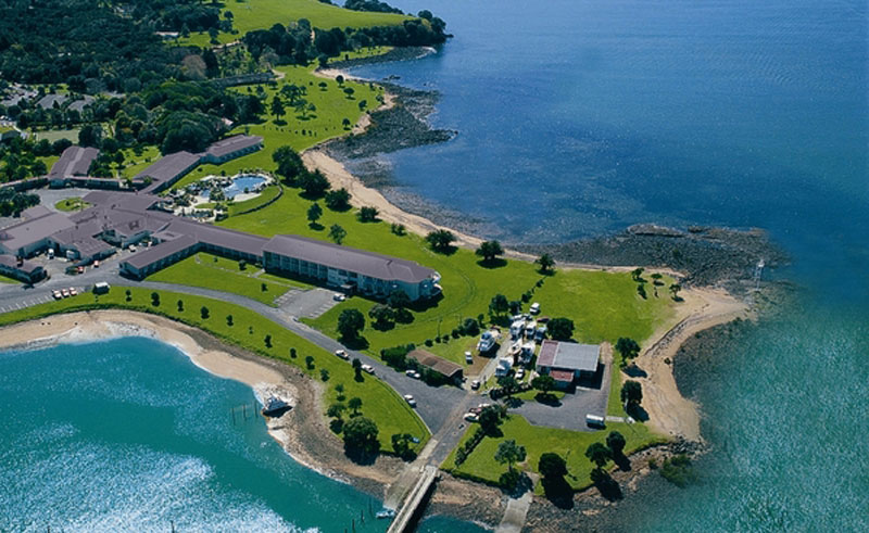 copthorne hotel and resort paihia aerial
