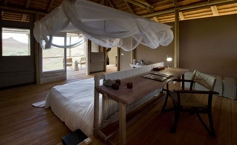 damaraland camp bedroom interior