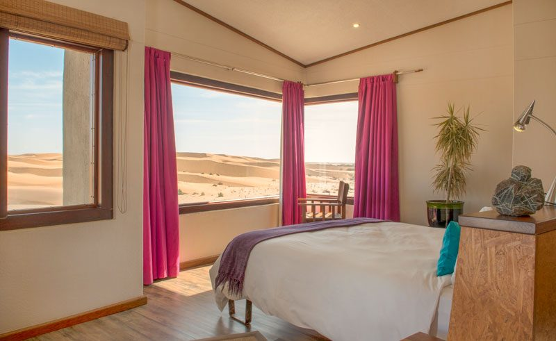 desert breeze bedroom view