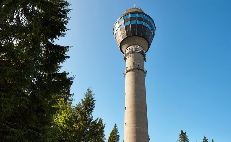 east finland puijo observation tower kuopio istk