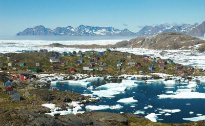 east greenland kulusuk village ch