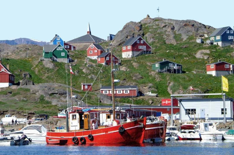 east greenland tasiilaq harbour vg