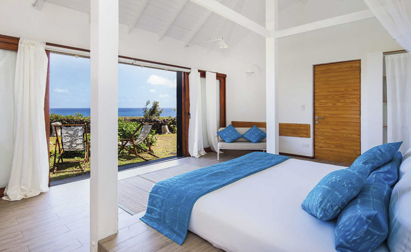 easter island altiplanico bedroom