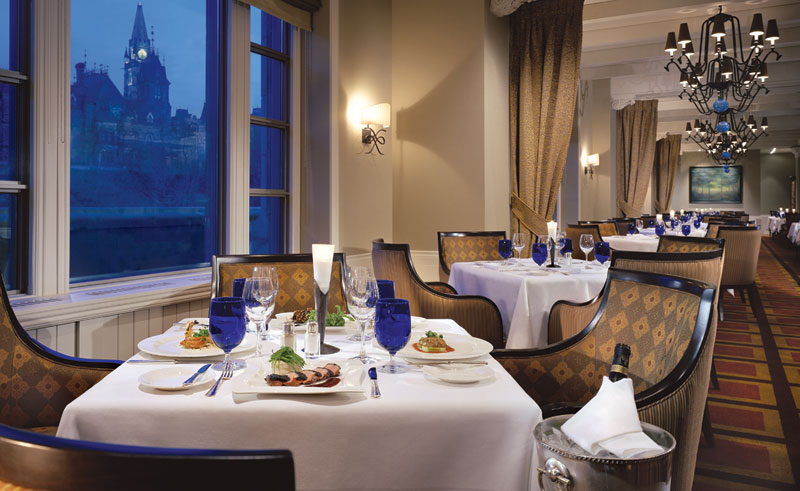 fairmont chateau laurier dining