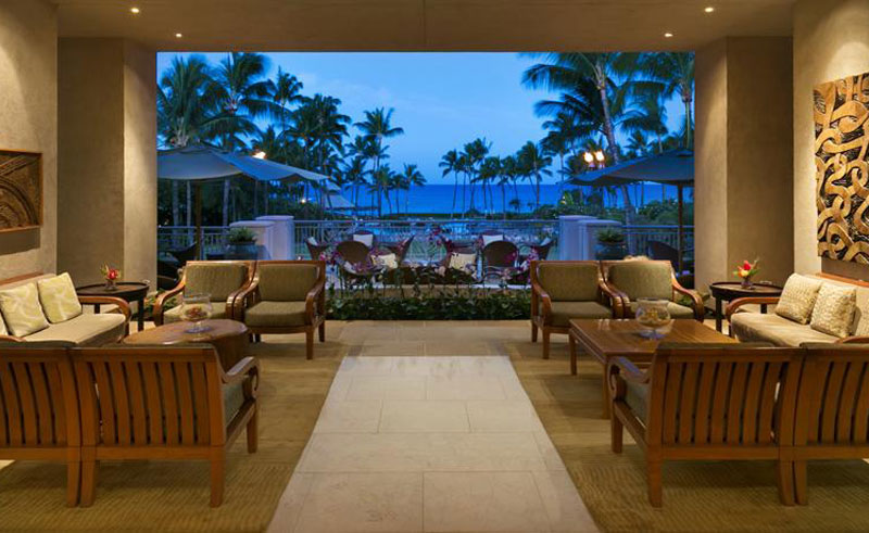 fairmont orchid hotel lobby