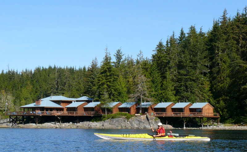 farewell harbour lodge exterior