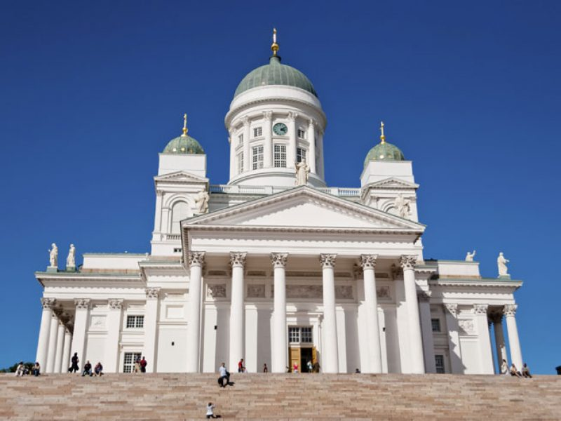finland helsinki cathedral istock